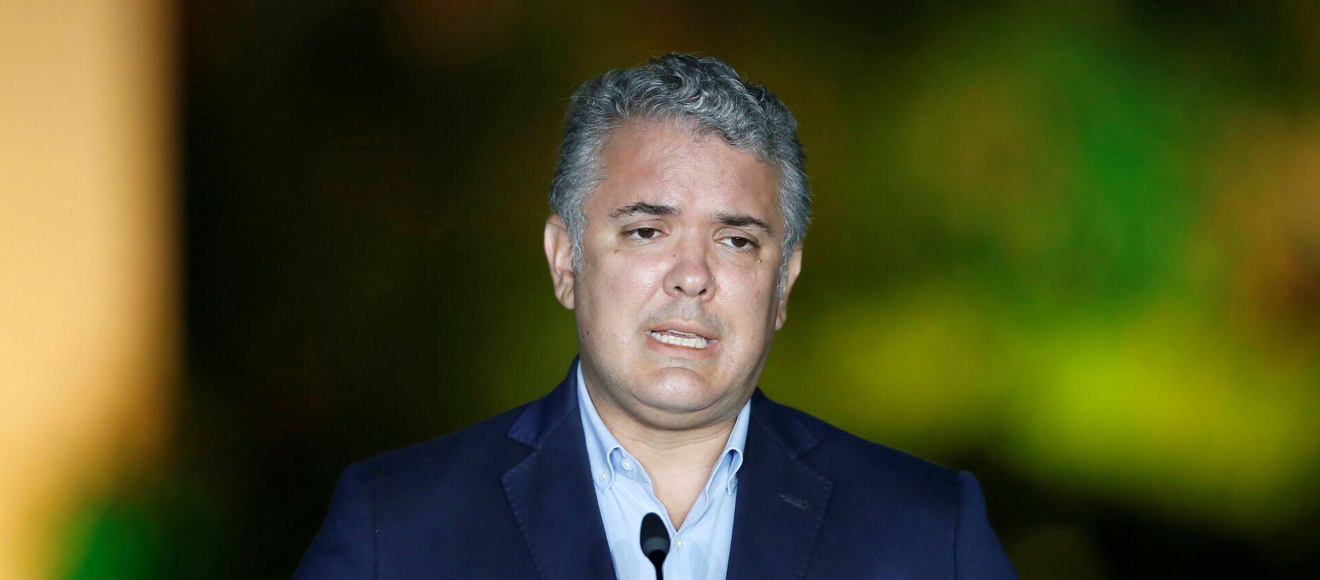 Iván Duque, presidente de Colombia - Sputnik Mundo, 1920, 11.12.2020