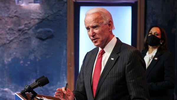 Joe Biden, cantidato a la presidencia de Estados Unidos - Sputnik Mundo