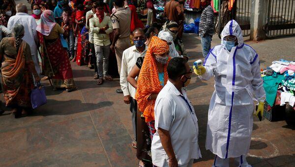Coronavirus en la India - Sputnik Mundo