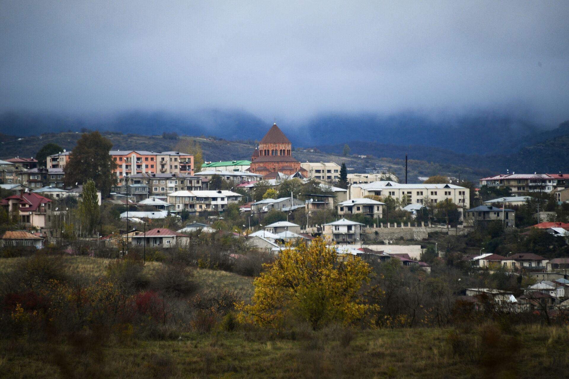 Stepanakert, capital de la autoproclamada república de Nagorno Karabaj - Sputnik Mundo, 1920, 18.02.2021