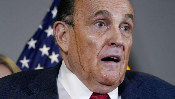 Rudy Giuliani, abogado de Trump - Sputnik Mundo