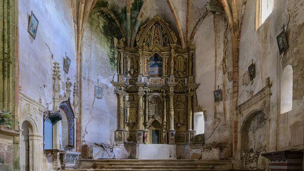Iglesia de Fuenteodra en Burgos  - Sputnik Mundo