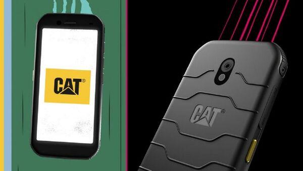 El teléfono Cat S42, fabricado por Bullitt Group - Sputnik Mundo