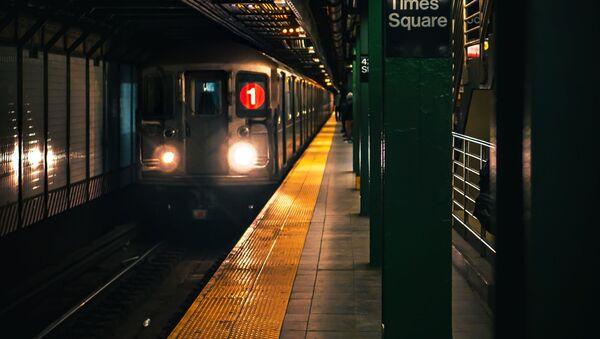 El metro de Nueva York, imagen referencial - Sputnik Mundo