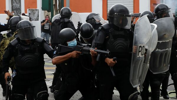 Policía de Guatemala - Sputnik Mundo