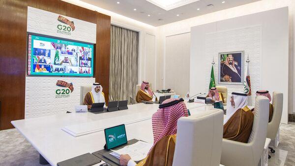 La cumbre virtual del G20 presidida por Arabia Saudí - Sputnik Mundo