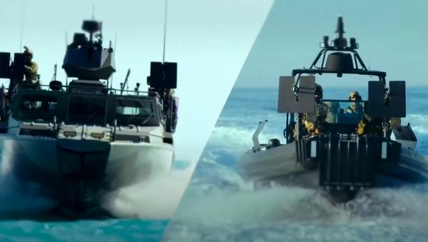 BK-16 y BK-10, embarcaciones de combate fabricadas por el grupo Kalashnikov - Sputnik Mundo
