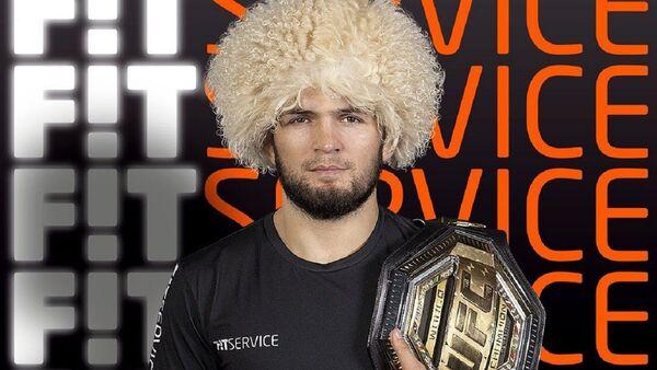 Khabib Nurmagomedov, campeón de peso ligero de la UFC - Sputnik Mundo