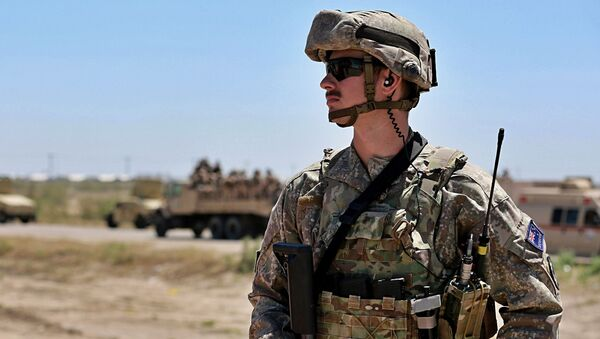 Un militar australiano - Sputnik Mundo