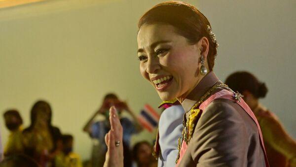 Reina Suthida de Tailandia - Sputnik Mundo