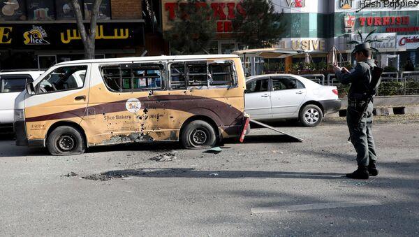 Consecuencias del ataque masivo con misiles contra Kabul - Sputnik Mundo