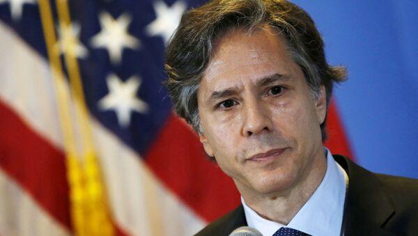 Antony Blinken, consejero de política exterior estadounidense - Sputnik Mundo