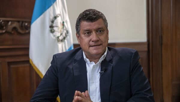 Guillermo Castillo, vicepresidente de Guatemala - Sputnik Mundo