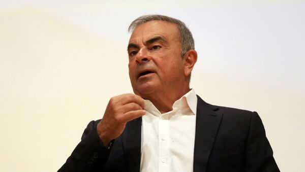 Carlos Ghosn, expresidente de Nissan-Renault - Sputnik Mundo