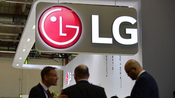 Logo de la compañía surcoreana LG - Sputnik Mundo