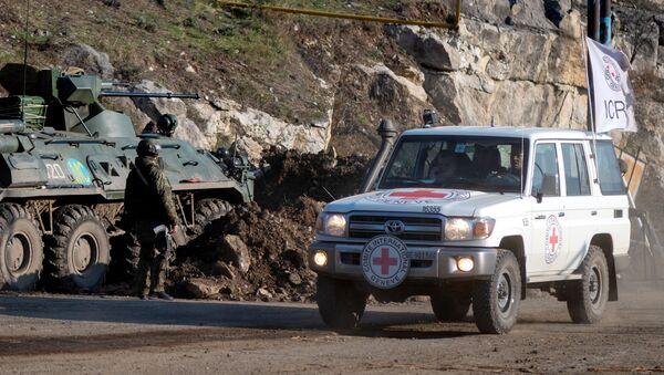 La Cruz Roja en Nagorno Karabaj - Sputnik Mundo