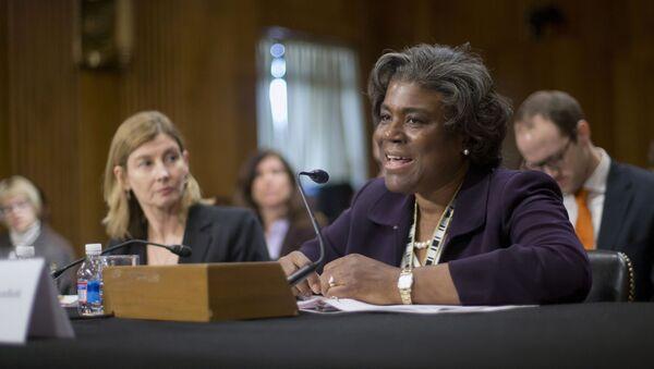 Linda Thomas-Greenfield, futura embajadora de EEUU en la ONU - Sputnik Mundo