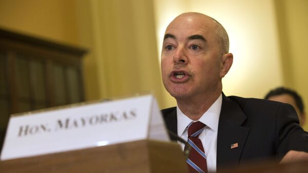 Alejandro Mayorkas, futuro secretario de Seguridad Nacional de EEUU - Sputnik Mundo