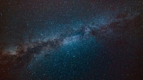 La Vía Láctea, imagen artística - Sputnik Mundo