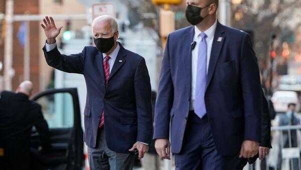 Joe Biden, candidato demócrata a la presidencia de EEUU - Sputnik Mundo