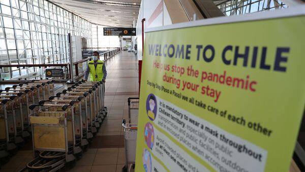 Aeropuerto de Santiago, Chile - Sputnik Mundo