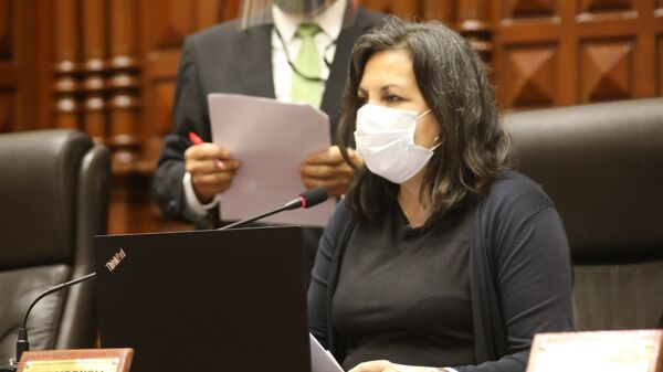 Rocío Silva Santisteban, congresista peruana - Sputnik Mundo