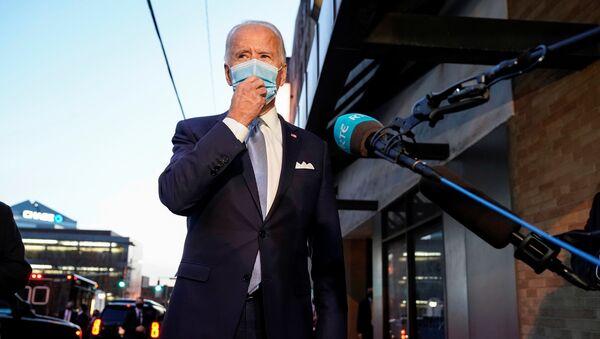 Joseph Biden, candidato demócrata en las elecciones presidenciales de EEUU - Sputnik Mundo