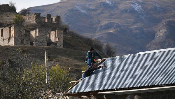 Situación en Kalbajar, Nagorno Karabaj - Sputnik Mundo