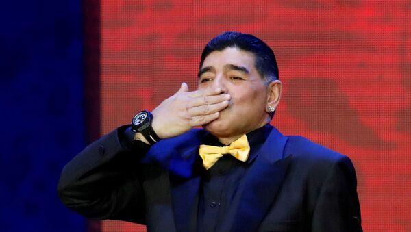 Diego Armando Maradona, exfutbolista argentino - Sputnik Mundo