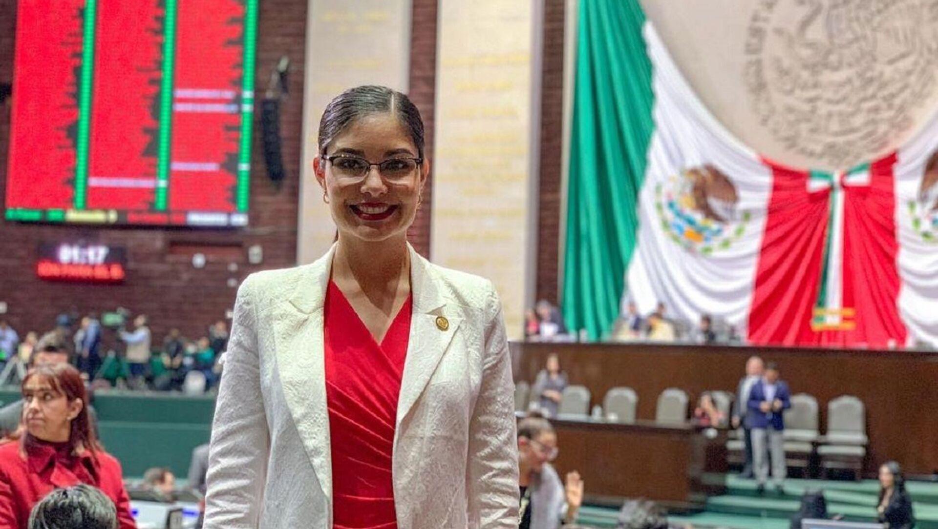 La diputada mexicana Geraldine Ponce - Sputnik Mundo, 1920, 25.11.2020