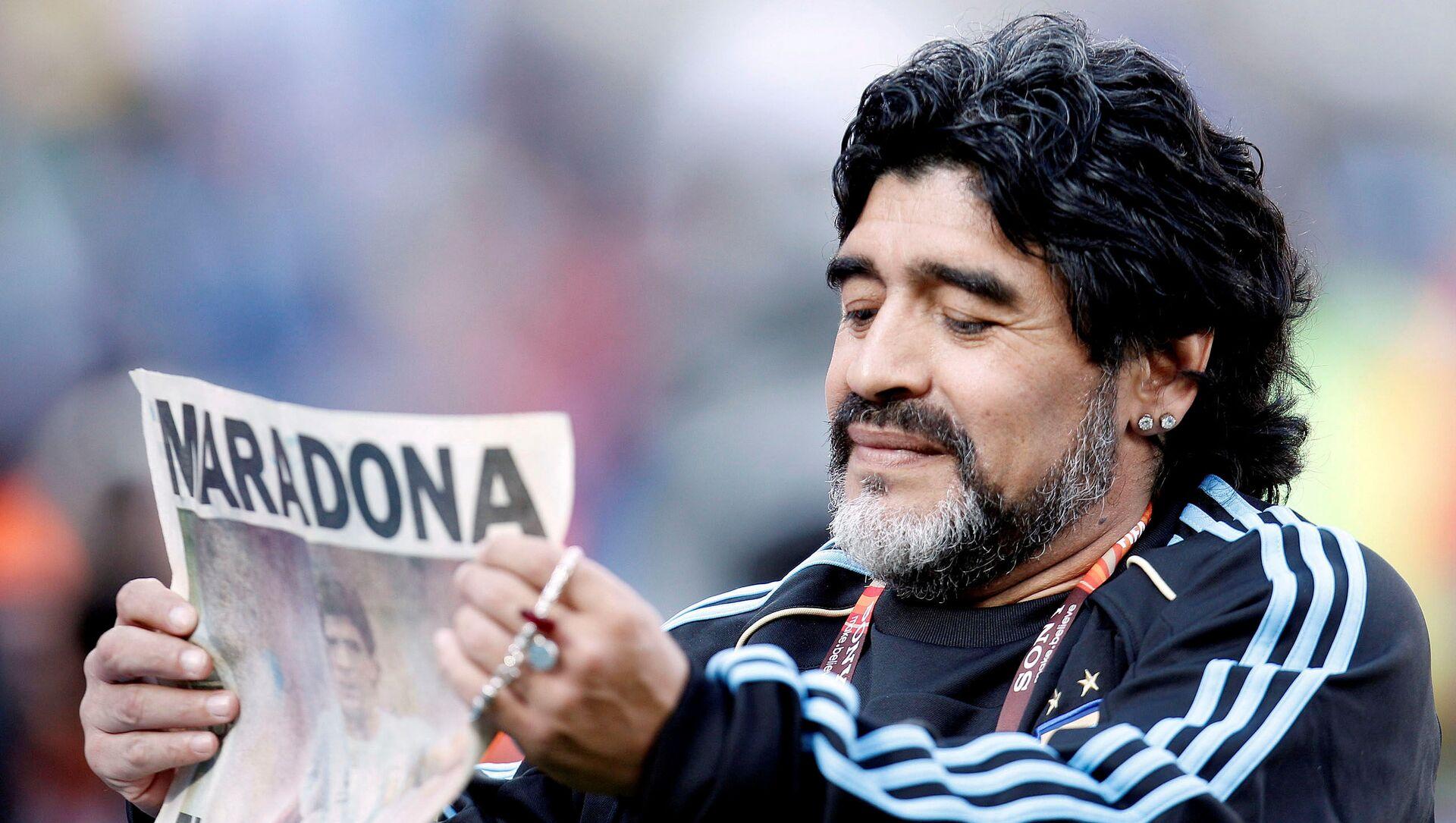 Diego Armando Maradona, exfutbolista argentino - Sputnik Mundo, 1920, 30.11.2020