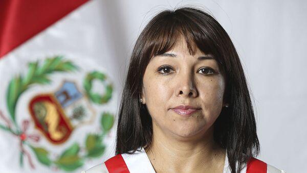 Mirtha Vásquez Chuquilín, presidenta del Congreso de Perú - Sputnik Mundo