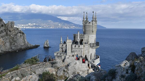 El símbolo de Crimea se reabre al público - Sputnik Mundo