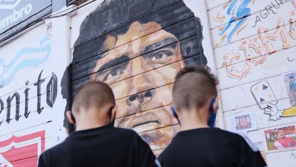 Buenos Aires, Argentina, tras la muerte de Diego Maradona - Sputnik Mundo