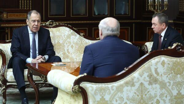 La visita oficial del canciller ruso, Serguéi Lavrov, a Bielorrusia - Sputnik Mundo