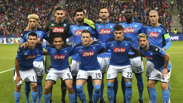 Jugadores del club de fútbol Napoli - Sputnik Mundo