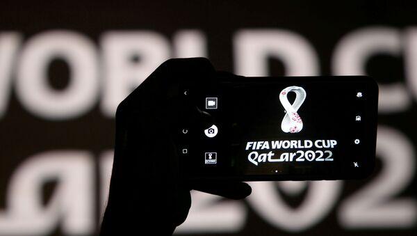Logo del Mundial de Catar 2022 - Sputnik Mundo