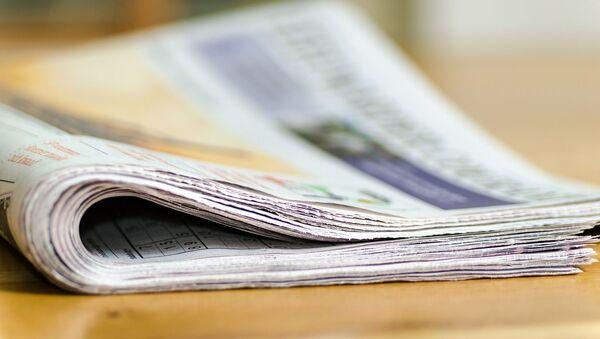 Un diario, periódico. Imagen referencial - Sputnik Mundo
