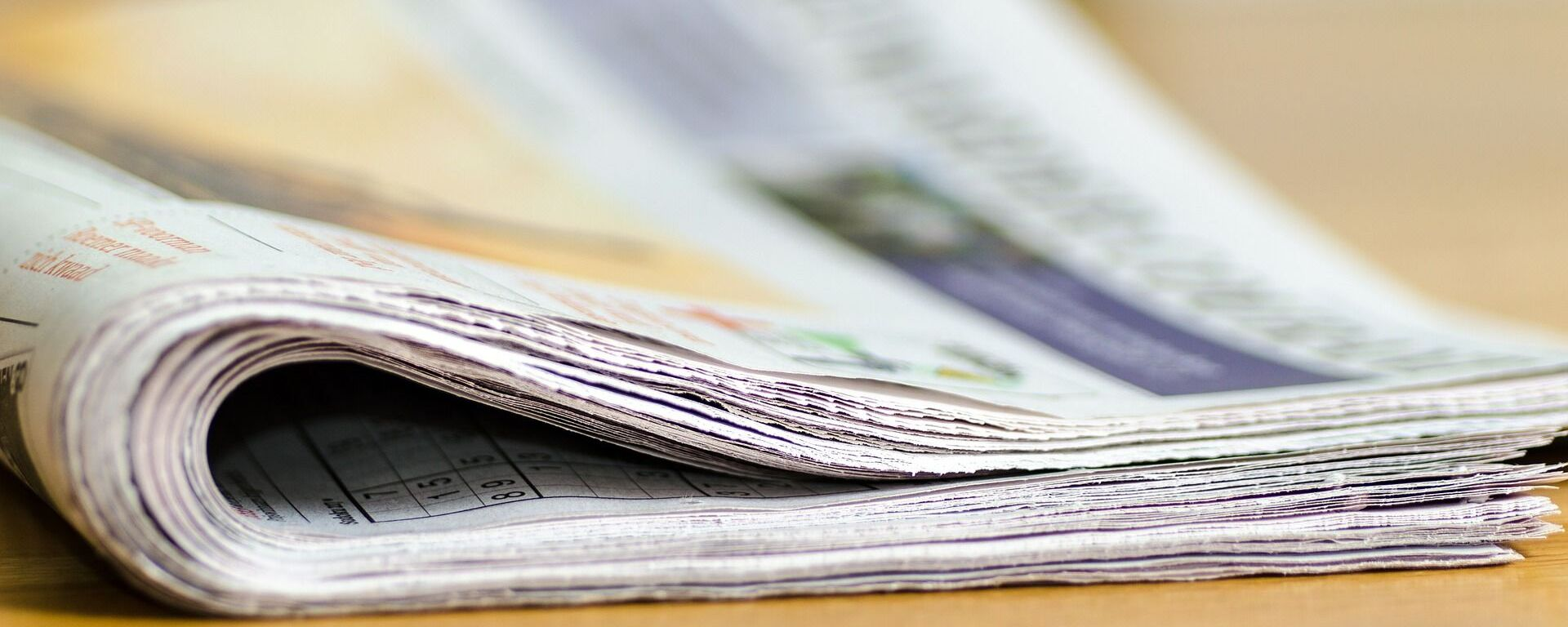 Un diario, periódico. Imagen referencial - Sputnik Mundo, 1920, 14.07.2021