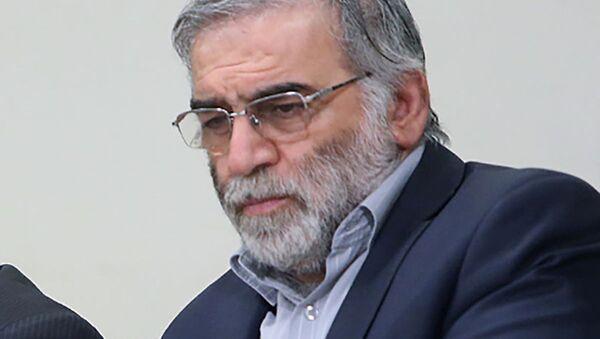 El físico nuclear iraní, Mohsen Fakhrizadeh - Sputnik Mundo