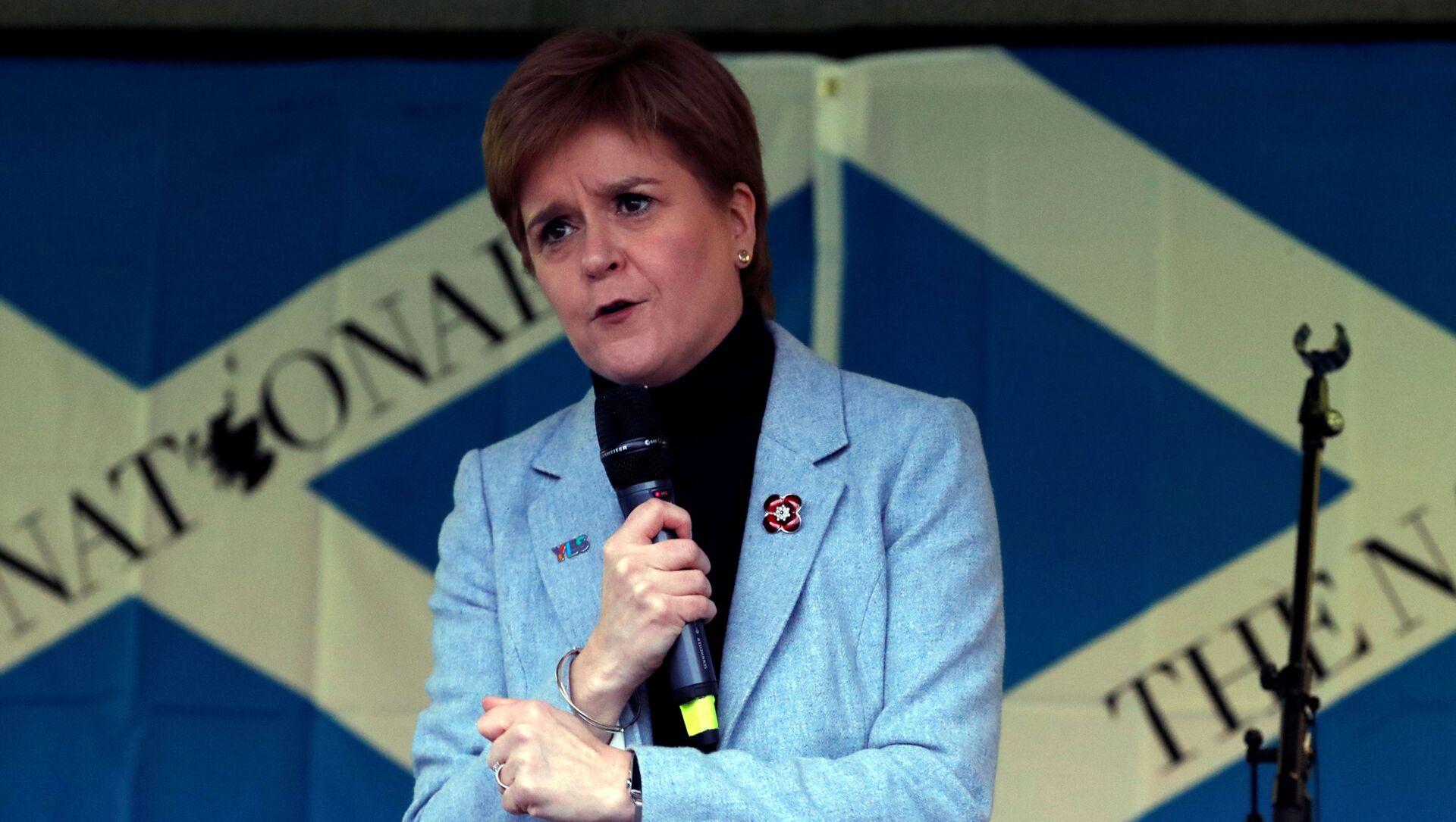 Nicola Sturgeon, la ministra principal de Escocia - Sputnik Mundo, 1920, 28.11.2020