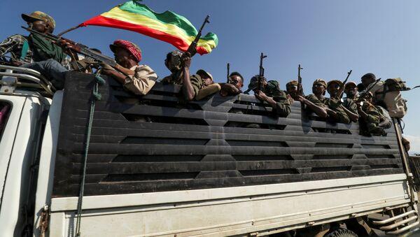 Situación en Etiopía - Sputnik Mundo