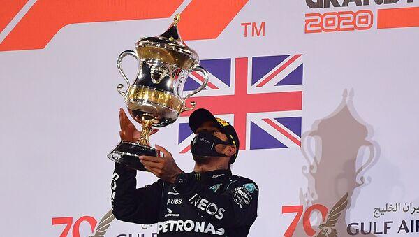 El piloto británico, Lewis Hamilton - Sputnik Mundo