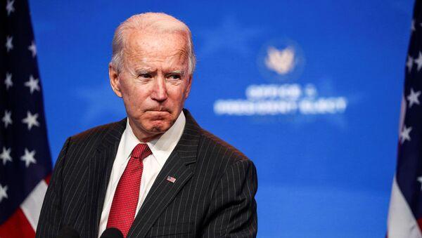 Joe Biden, candidato presidencial demócrata de EEUU - Sputnik Mundo