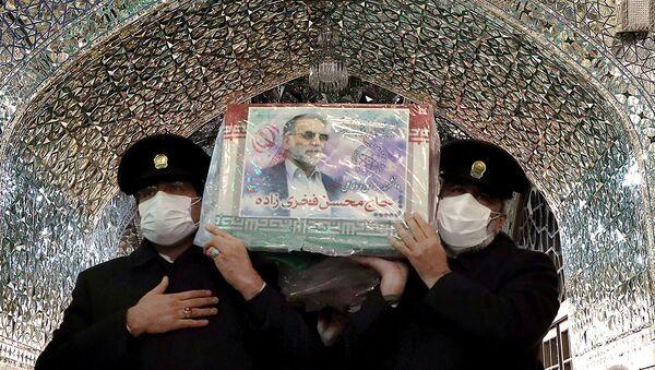 Funeral del físico nuclear iraní, Mohsen Fajrizade - Sputnik Mundo