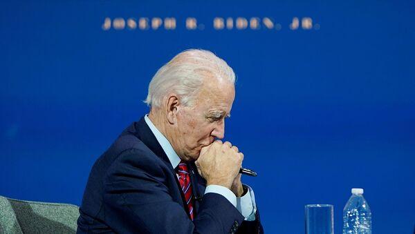 Joe Biden, candidato demócrata al presidente de EEUU - Sputnik Mundo