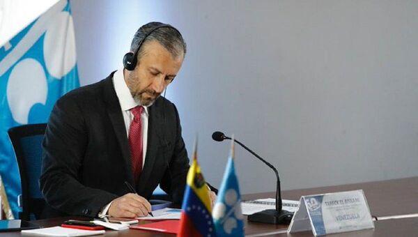 Tareck El Aissami, ministro de Petróleo de Venezuela - Sputnik Mundo