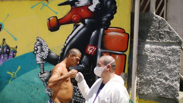 Coronavirus en Río de Janeiro - Sputnik Mundo