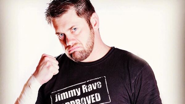 Jimmy Rave, luchador estadounidense - Sputnik Mundo