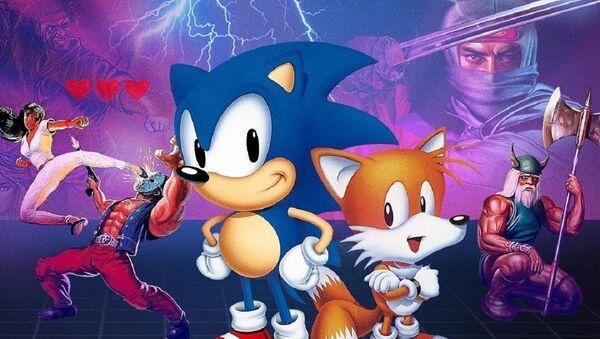 Sonic the Hedgehog y otros personajes de Sega - Sputnik Mundo